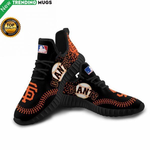 San Francisco Giants Unisex Sneakers Custom Shoes Baseball Yeezy Boost Shoes & Sneaker