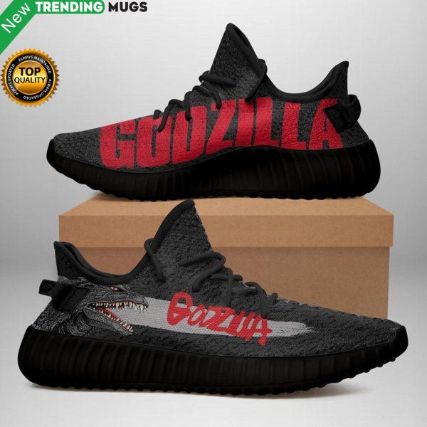 Godzilla Black Limited Edition Yeezy Sneakers Shoes & Sneaker