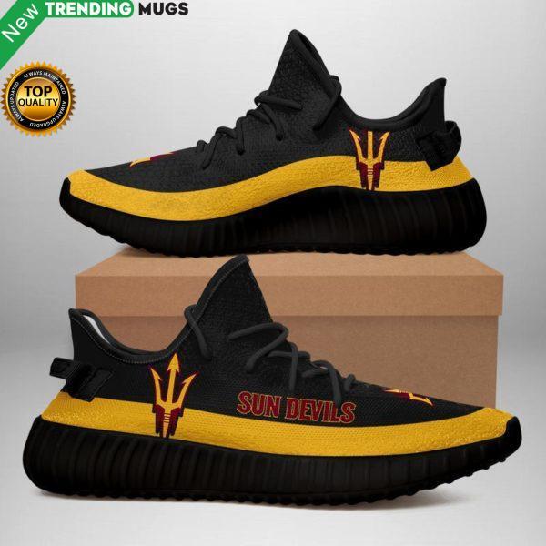 Arizona State Sun Devils Unisex Sneaker Football Custom Shoes Arizona State Sun Devils Yeezy Boost Shoes & Sneaker