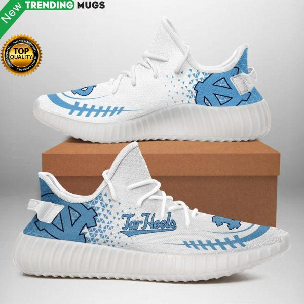 North Carolina Tar Heels Unisex Sneaker Football Custom Shoes North Carolina Tar Heels Yeezy Boost Shoes & Sneaker