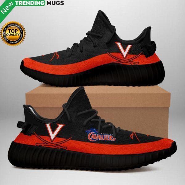 Virginia Cavaliers Unisex Sneaker Football Custom Shoes Virginia Cavaliers Yeezy Boost Shoes & Sneaker