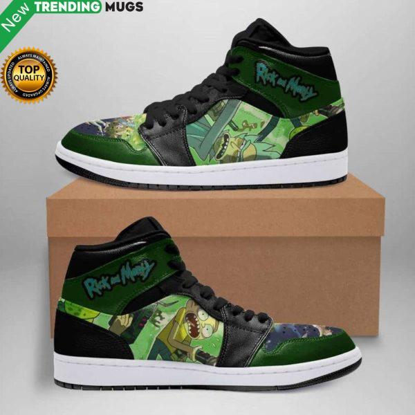 Rick And Morty Morvie Air Jordan Sneakers Custom Jordan Shoe Sneaker Shoes & Sneaker