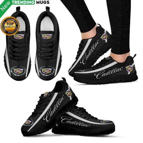 Cadillac Unisex Breathable Sneakers Carscustom Shoes Cadillac Cheap Sneakers Boost Shoes & Sneaker