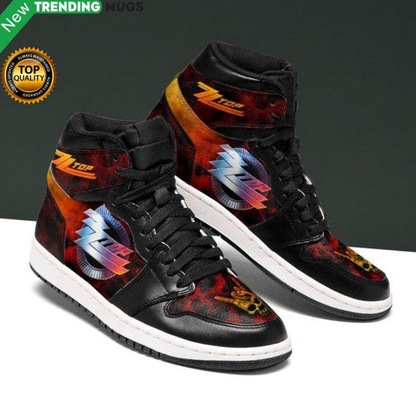 Zz Top Rock Men Jordan Shoes Unique Zz Top Custom Sneakers Shoes & Sneaker