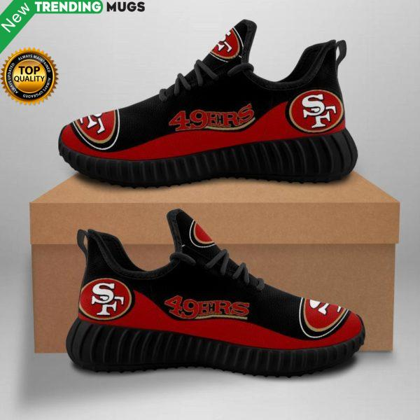 San Francisco 49Ers Unisex Sneakers New Sneakers Custom Shoes Football Yeezy Boost Shoes & Sneaker