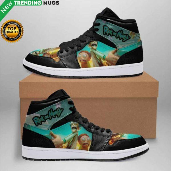 Rick And Morty Toxic Air Jordan Sneakers Custom Jordan Shoe Sneaker Shoes & Sneaker