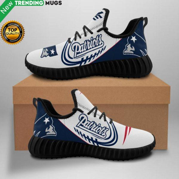 Nfl New England Patriots Unisex Sneakers New Sneakers Custom Shoes New England Patriots Yeezy Boost Shoes & Sneaker