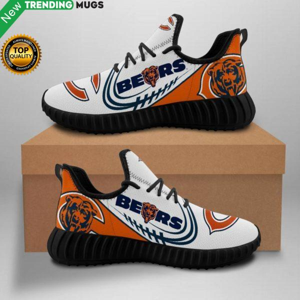 Chicago Bears Nfl Unisex Sneakers New Sneakers Custom Shoes Chicago Bears Yeezy Boost Shoes & Sneaker