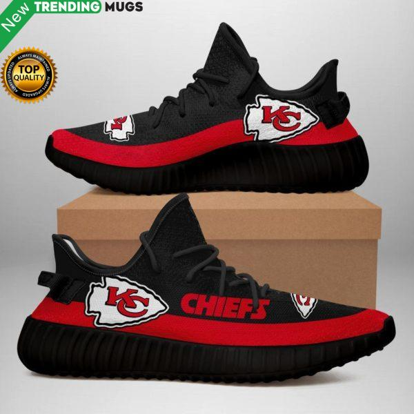 Kansas City Chiefs Unisex Sneaker Football Custom Shoes Kansas City Chiefs Yeezy Boost Shoes & Sneaker