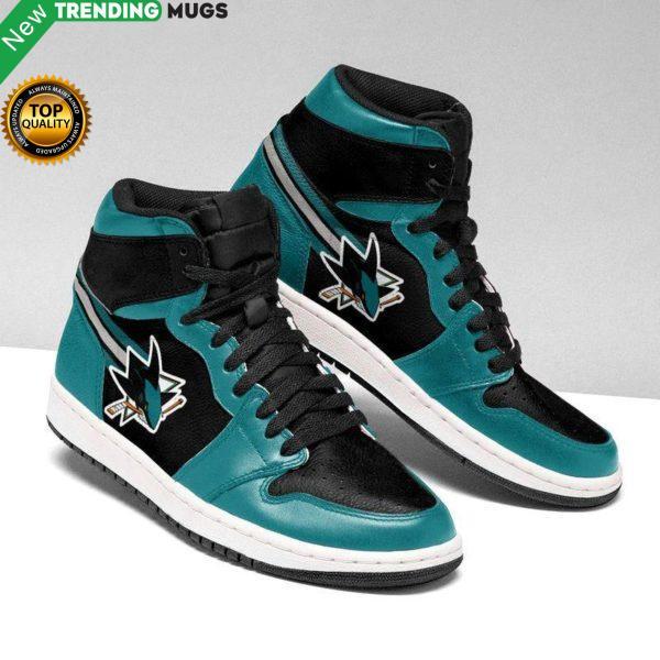 San Jose Sharks Unisex Air Jordan Custom Sneaker Shoes & Sneaker