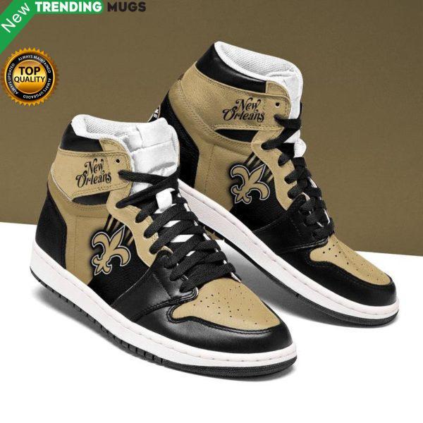 New Orleans Saints Men Jordan Shoes Unique Football Custom Sneakers Shoes & Sneaker