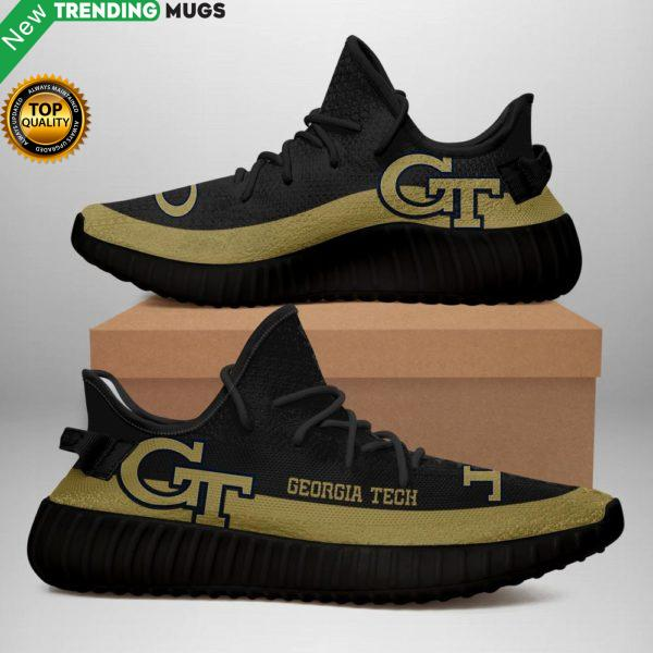 Nca93 ? Georgia Tech Yellow Jackets Sneakers Shoes & Sneaker