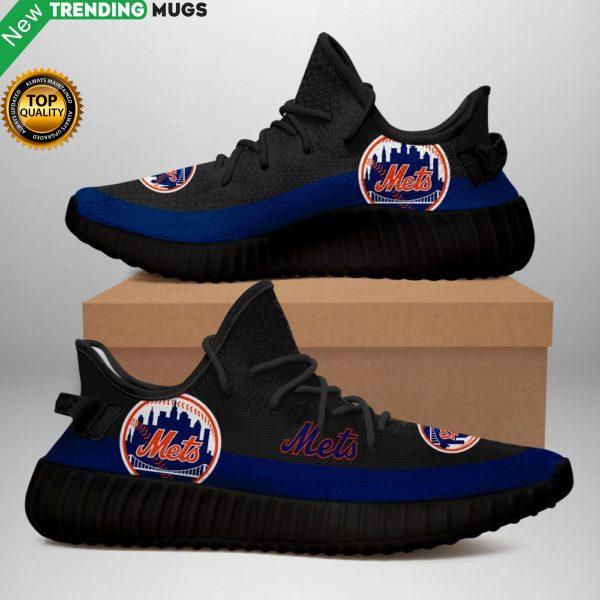 New York Mets Black Sneakers Shoes & Sneaker