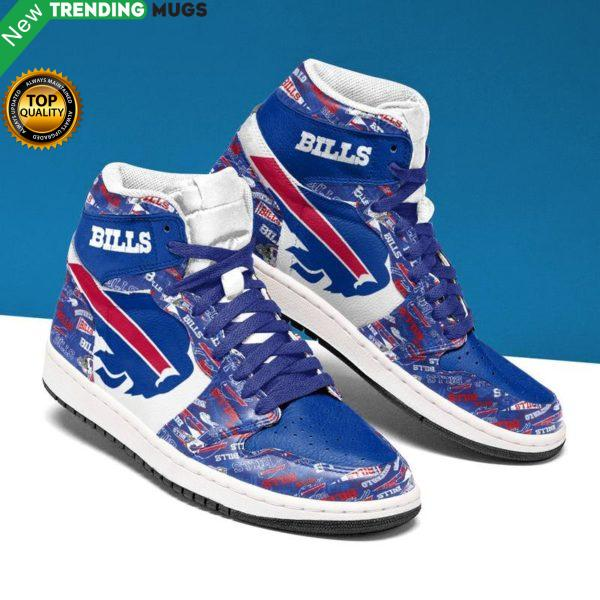Buffalo Bills Men Jordan Shoes Unique Football Custom Sneakers Shoes & Sneaker