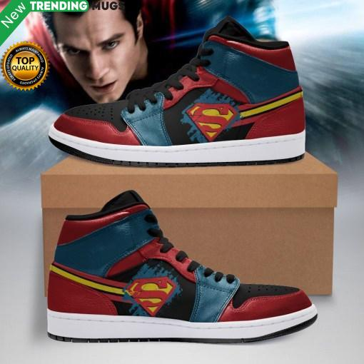 Superman Marvel Men Jordan Shoes Unique Superman Avengers Custom Sneakers Shoes & Sneaker