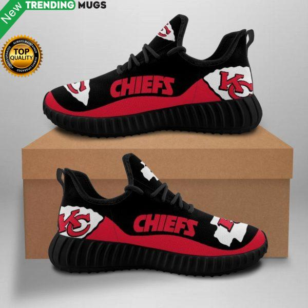 Kansas City Chiefs Unisex Sneakers New Sneakers Custom Shoes Kansas City Chiefs Nfl Yeezy Boost Shoes & Sneaker