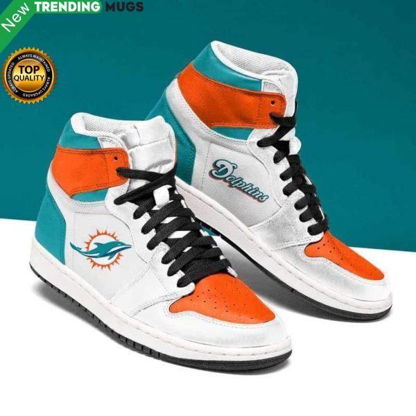 Miami Dolphins Nfl Men Jordan Shoes Unique Miami Dolphins Custom Sneakers Shoes & Sneaker