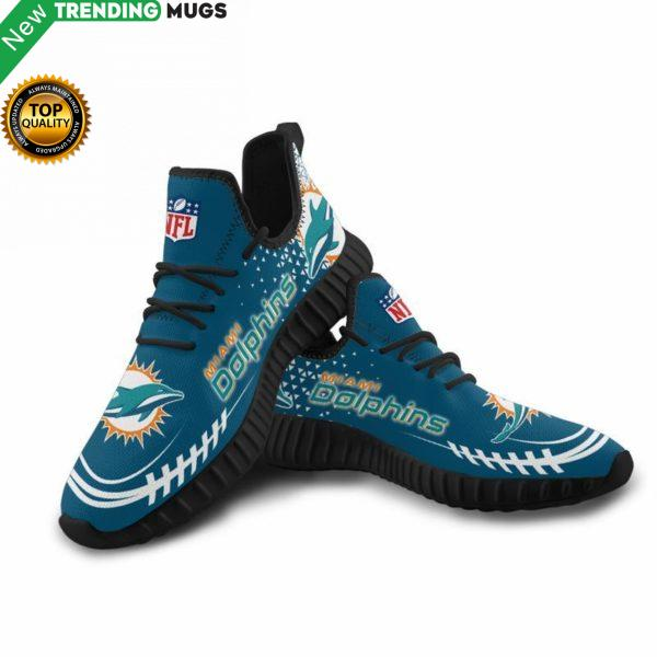 Miami Dolphins Unisex Sneakers New Sneakers Custom Shoes Football Yeezy Boost Shoes & Sneaker