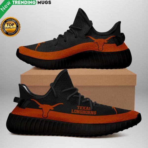Texas Longhorns Unisex Sneaker Football Custom Shoes Texas Longhorns Yeezy Boost Shoes & Sneaker