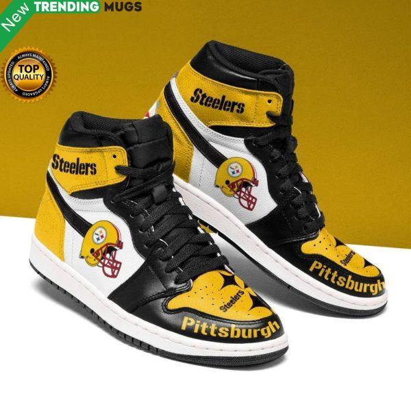Pittsburgh Steelers Men Jordan Shoes Unique Football Custom Sneakers Shoes & Sneaker