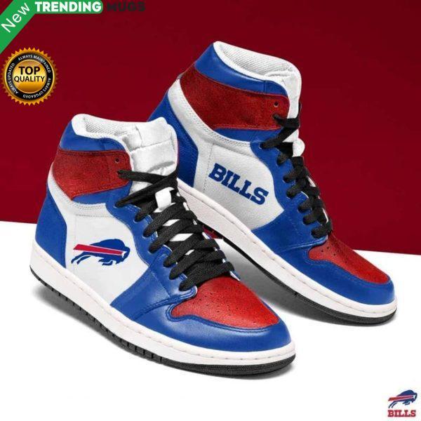 Buffalo Bills Nfl Men Jordan Shoes Unique Buffalo Bills Custom Sneakers Shoes & Sneaker