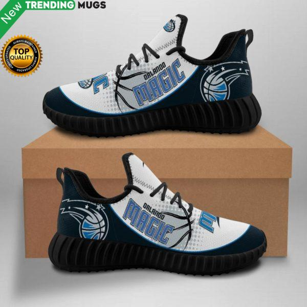 Orlando Magic Unisex Sneakers New Sneakers Basketball Custom Shoes Orlando Magic Yeezy Boost Shoes & Sneaker