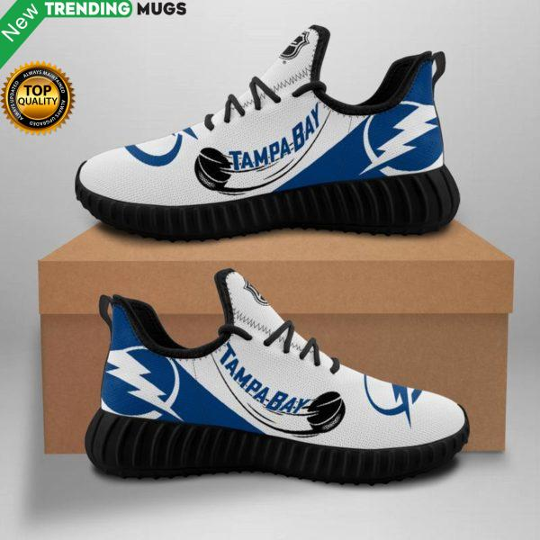 Tampa Bay Lightning Unisex Sneakers New Sneakers Hockey Custom Shoes Tampa Bay Lightning Yeezy Boost Shoes & Sneaker
