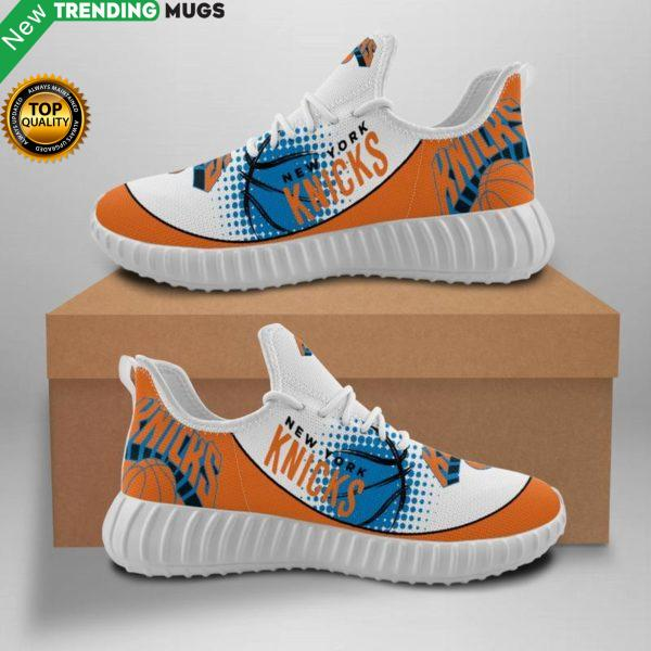 Newyork Knicks Unisex Sneakers New Sneakers Basketball Custom Shoes Newyork Knicks Yeezy Boost Shoes & Sneaker