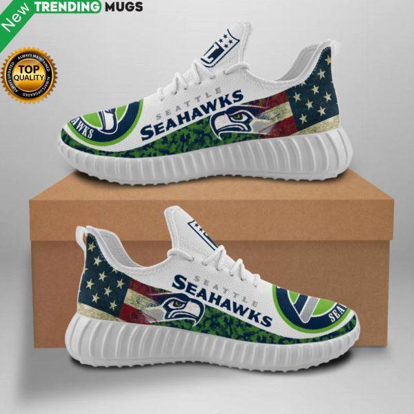 Seattle Seahawks Unisex Sneakers New Sneakers Custom Shoes Football Yeezy Boost Shoes & Sneaker