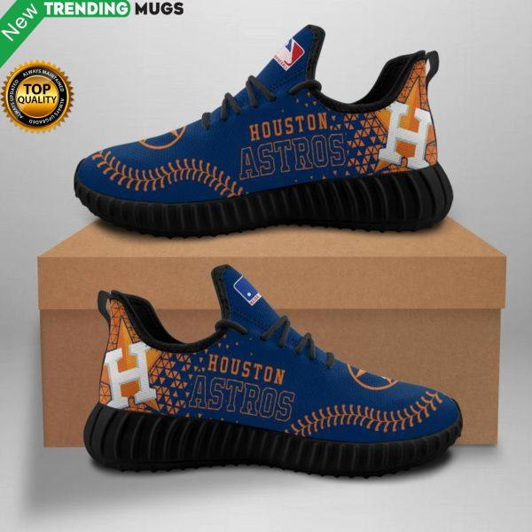 Houston Astros Unisex Sneakers New Sneakers Custom Shoes Baseball Yeezy Boost Shoes & Sneaker
