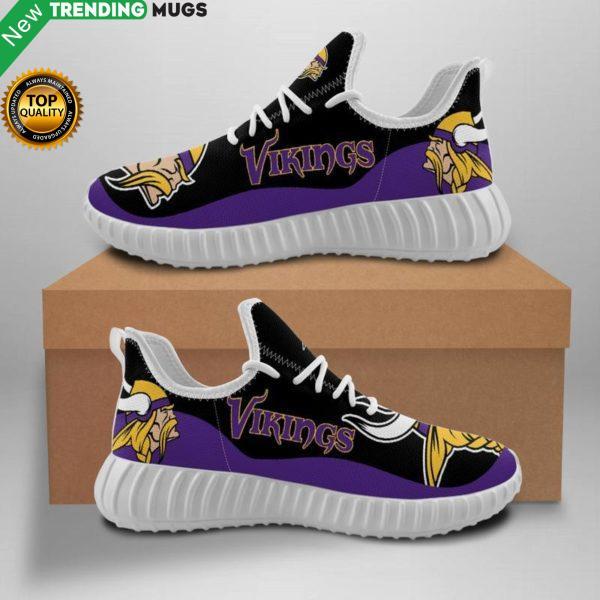 Minnesota Vikings Unisex Sneakers New Sneakers Custom Shoes Football Yeezy Boost Shoes & Sneaker