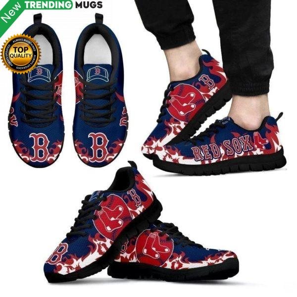 Boston Red Sox Sneakers Shoes & Sneaker