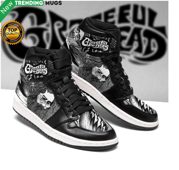 Grateful Dead Men Jordan Shoes Unique Rock Custom Sneakers Shoes & Sneaker