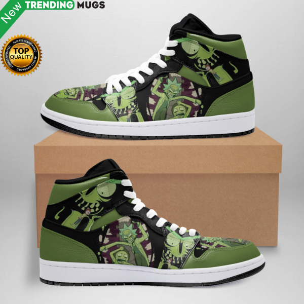 Rick And Morty Jordan Sneakers Custom Jordan Shoe Sneaker 0 Shoes & Sneaker
