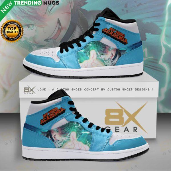 My Hero Academia Jordan Sneakers Midoriya Anime Shoes Shoes & Sneaker