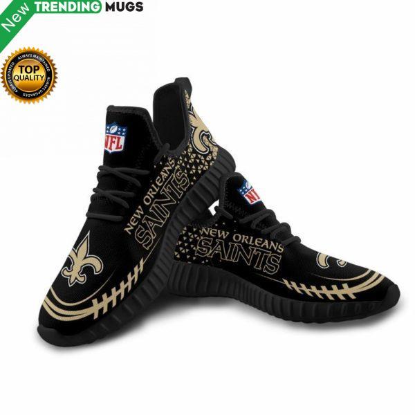 New Orleans Saints Unisex Sneakers New Sneakers Custom Shoes Football Yeezy Boost Shoes & Sneaker