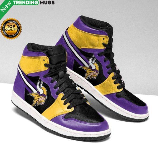 Minnesota Vikings 4 Unisex Air Jordan Custom Sneakers Shoes & Sneaker