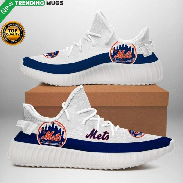 New York Mets Sneakers White Shoes & Sneaker