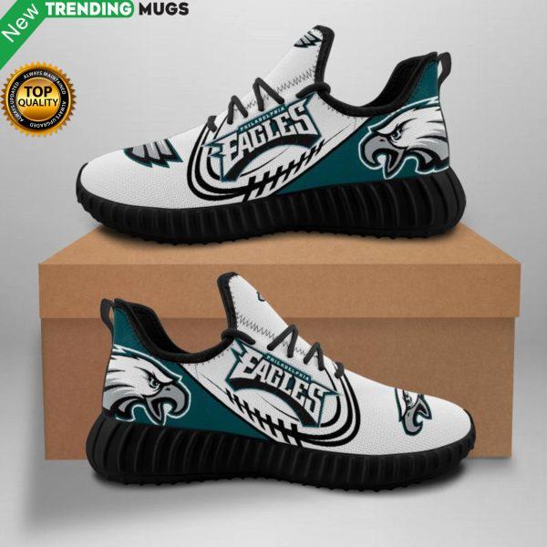 Philadelphia Eagles Unisex Sneakers New Sneakers Eagles Custom Shoes Football Yeezy Boost Shoes & Sneaker