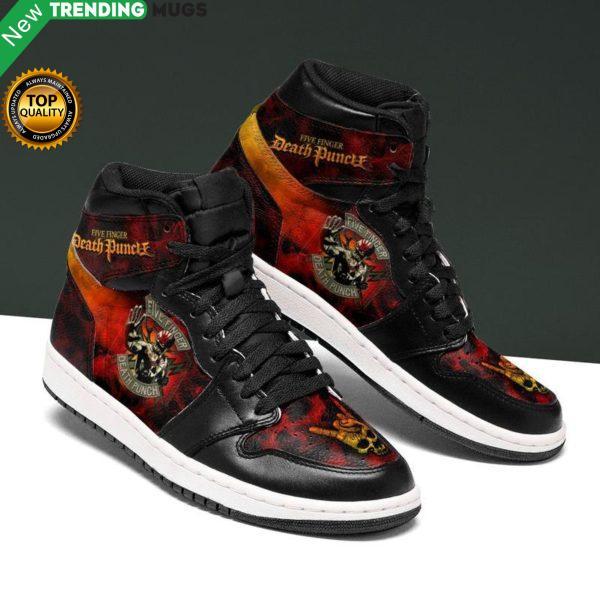 Five Finger Death Punch Rock Womens Jordan Shoes Unique Five Finger Custom Sneakers Shoes & Sneaker
