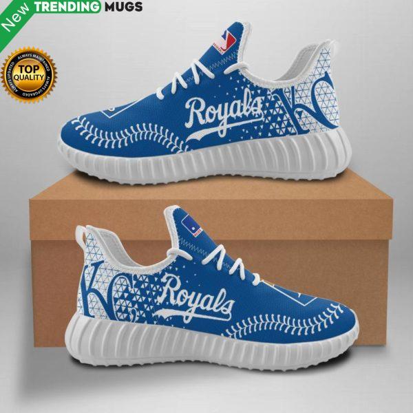 Kansas City Royals Unisex Sneakers New Sneakers Custom Shoes Baseball Yeezy Boost Shoes & Sneaker