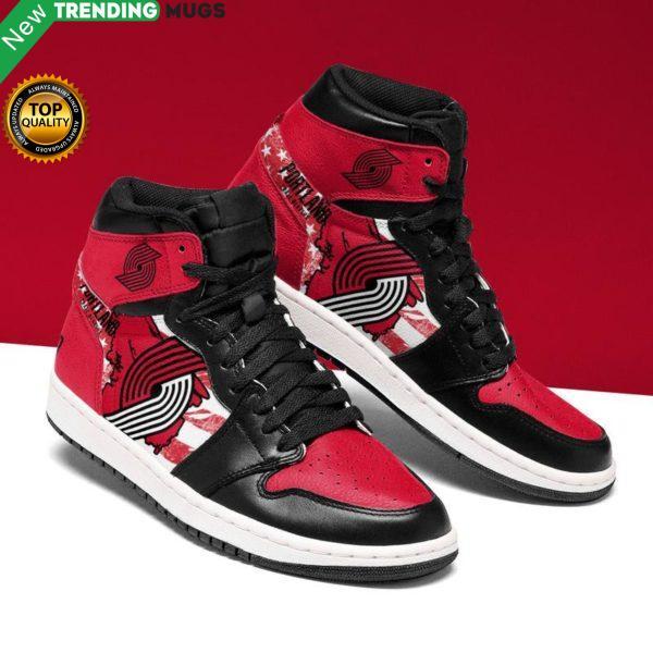 Portland Trail Blazers Men Jordan Shoes Unique Basketball Custom Sneakers Shoes & Sneaker