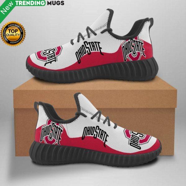 Ohio State Buckeyes Unisex Sneakers New Sneakers Custom Shoes Football Yeezy Boost Shoes & Sneaker