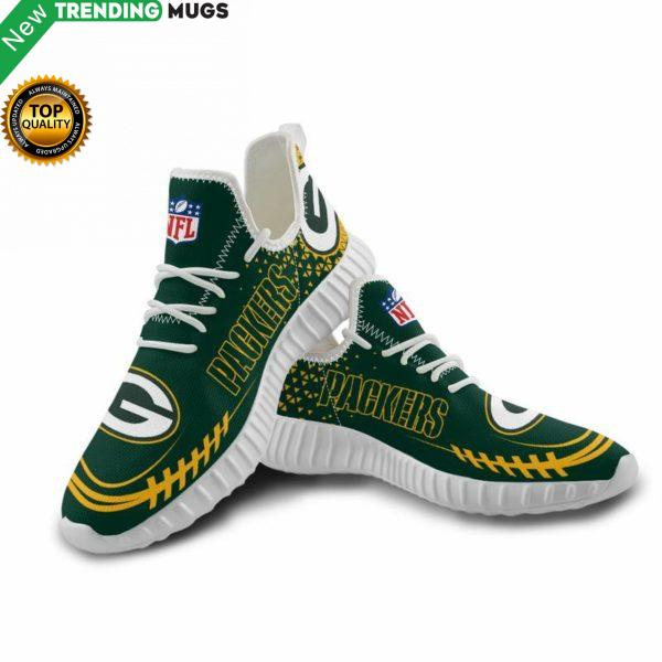 Green Bay Packers Unisex Sneakers New Sneakers Custom Shoes Football Yeezy Boost Shoes & Sneaker