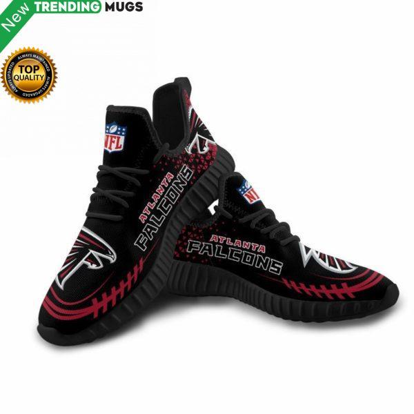 Atlanta Falcons Unisex Sneakers New Sneakers Custom Shoes Football Yeezy Boost Shoes & Sneaker