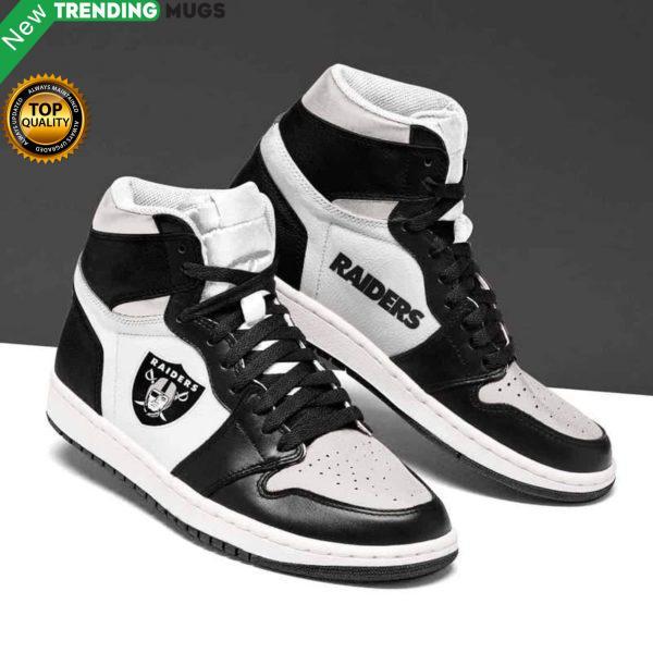 Oakland Raiders Nfl Men Jordan Shoes Unique Oakland Raiders Custom Sneakers Shoes & Sneaker
