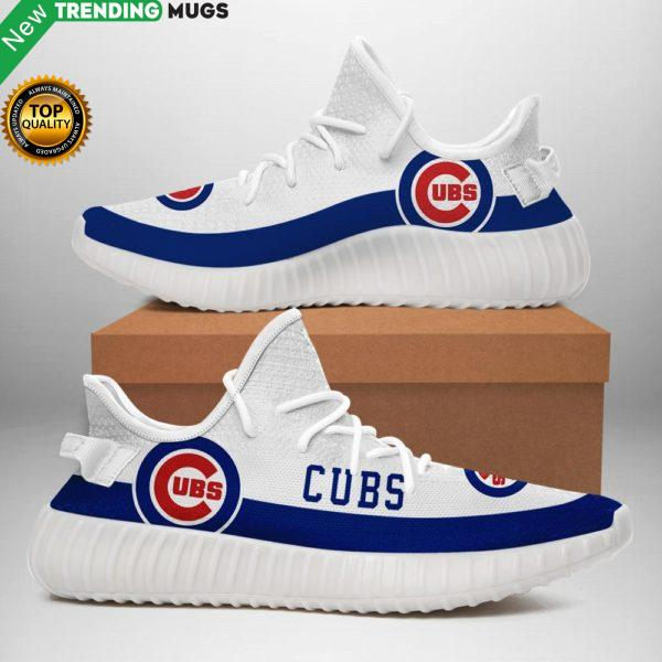 Chicago Cubs Sneakers White Shoes & Sneaker