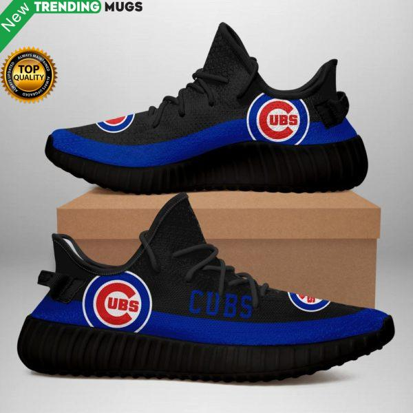 Chicago Cubs Sneakers Black Shoes & Sneaker