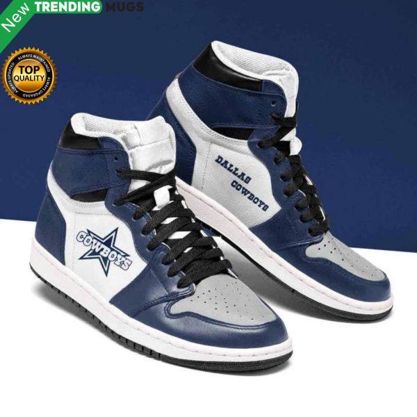 Dallas Cowboys Nfl Men Jordan Shoes Unique Dallas Cowboys 2 Custom Sneakers Shoes & Sneaker