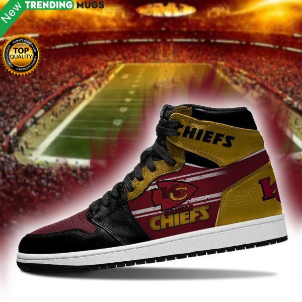 Kansas City Chiefs Men Jordan Shoes Unique Football Custom Sneakers Shoes & Sneaker